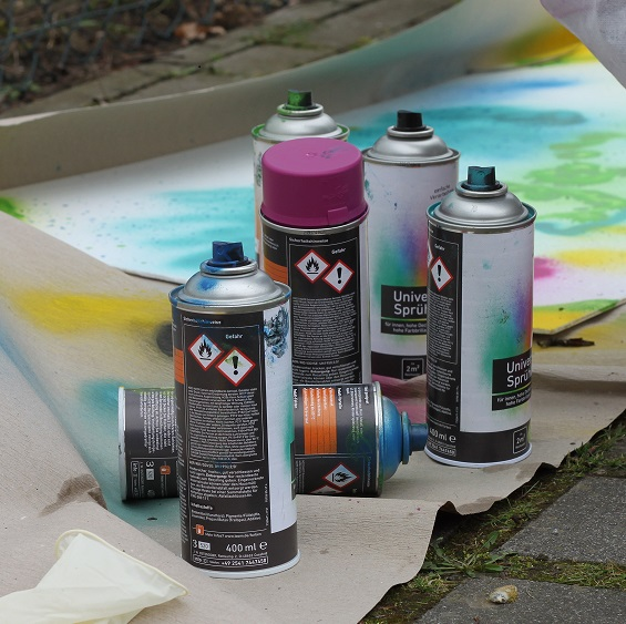 VKM Graffiti Spraydosen